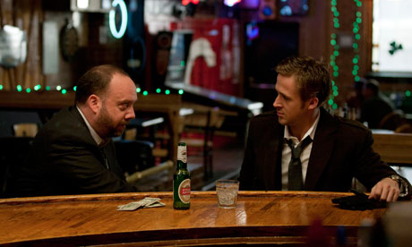 Paul Giamatti and Ryan Gosling in George Clooney's political thriller TheIdes of March.