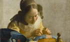 The Lacemaker, by Vermeer