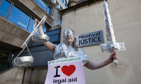 Campaigners for legal aid