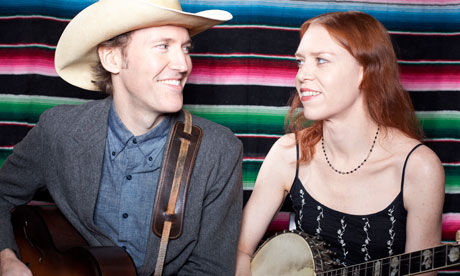 David Rawlings and Gillian Welch in London last week