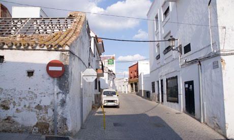 Benalup Street Andalucia Spain