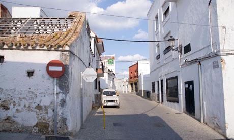 Benalup Street Andalucia Spain