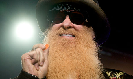Billy had got a kind of guitar power - I always like the idea that his guitar is gasoline-powered - David Lynch on ZZ Top's Billy Gibbons (pictured). Photograph: Juan Naharro Gimenez/Getty Images Europe