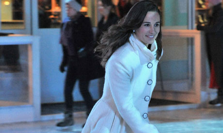 Pippa middleton ice skating