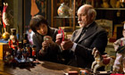 Asa Butterfield and Ben Kingsley in Martin Scorsese's forthcoming film Hugo.
