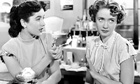 Jane Powell (right) with Elizabeth Taylor in 1948's A Date With Judy.