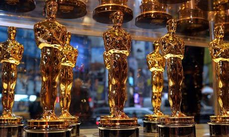 Oscar statuettes for the 78th Academy Awards