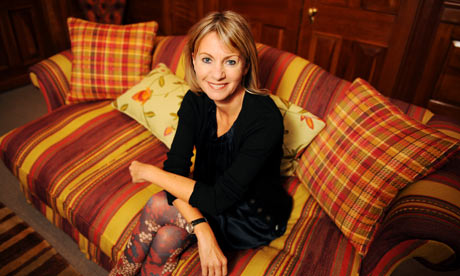  Kate Mosse, one of the first authors to have her work published with Unbound.