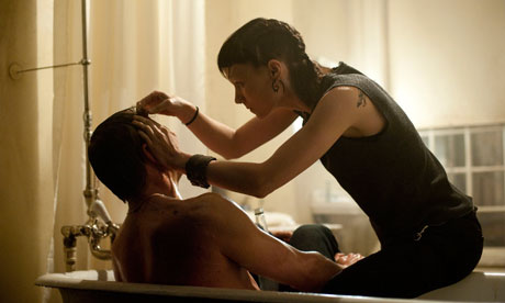 Daniel Craig and Rooney Mara in The Girl With the Dragon Tattoo.