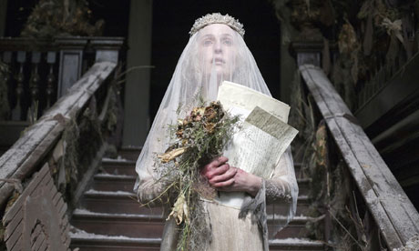 Gillian Anderson as Miss Havisham in Great Expectations