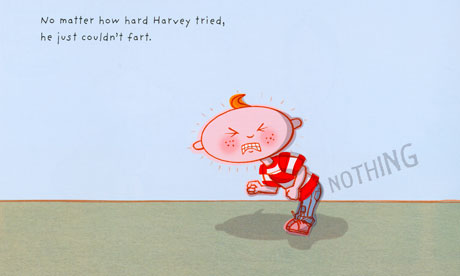 Harvey, the Boy Who Couldn't Fart by Matthew Johnstone, published by Walker Books.