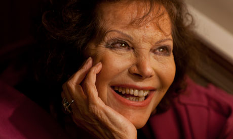 Claudia Cardinale. Photograph: Sean Smith for the Guardian