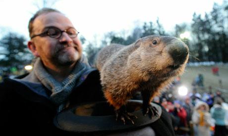 Groundhog Day Punxsutawney Phil tradition