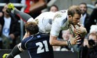 Tom Croft, Dan Parks, England, Scotland