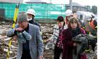 Japan earthquake survivors, Sendai