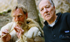Werner Herzog with an 'experimental archaeologist'