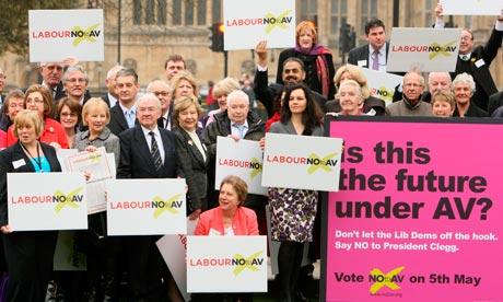 labour no to av