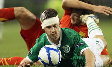 Shane Long, Republic of Ireland, Macedonia, Euro 2012 Qualifier