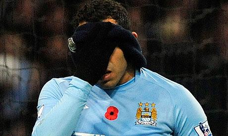 Carlos Tevez, Manchester City, Wigan