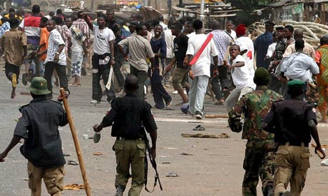 NIGERIA RIOTS 2006