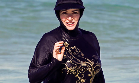 Mascara  Volume  Length on Nigella Lawson And The Great Burkini Cover Up   Life And Style   The