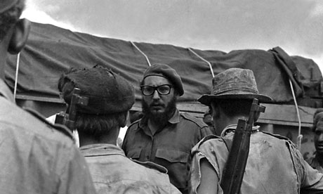 Cuban President Castro during Bay of Pigs invasion