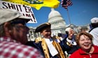Tea party rallies outside Capitol