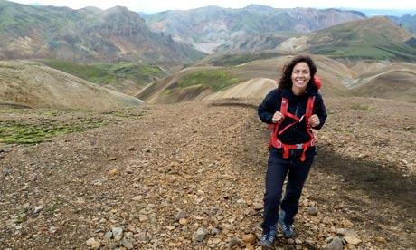 Julia Bradbury's Iceland Walk. Photograph: BBC/Skyworks Ltd/Clare ...