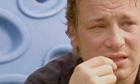 Jamie Oliver crying on US TV
