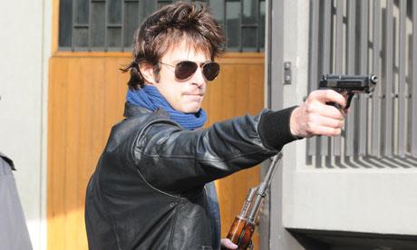 Kim Rossi Stuart as Renato Vallanzasca in Angels of Evil.