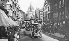 Omnibus On Fleet Street
