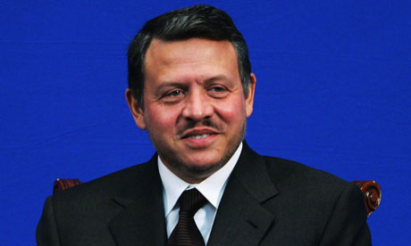 King Abdullah II of Jordan visits Beijing