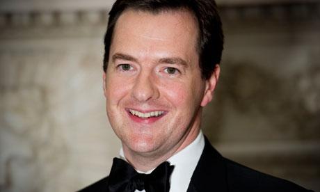 George Osborne at Mansion House