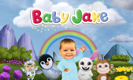 YouTube CBeebies http://www.guardian.co.uk/tv-and-radio/2011/jun/25/baby-jake-cbbc