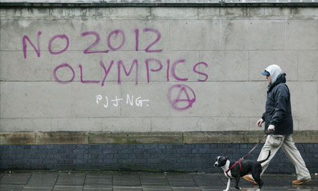 anti-Olympic graffiti