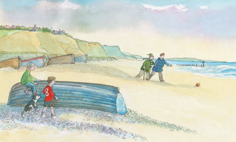 An illustration from Michael Morpurgo's Little Manfred