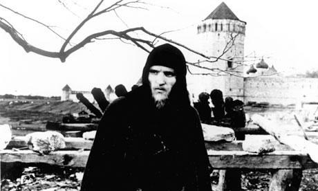 Anatoly Solonitsyn in Andrei Rublev (1966), Tarkovsky's portrait of the medieval icon painter