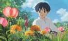 A scene from Japanese animation Arrietty