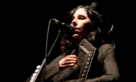 PJ Harvey on stage at I'll Be Your Mirror