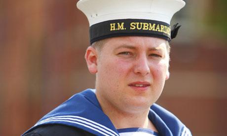 Navy medic Michael Lyons