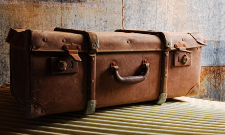 An old suitcase