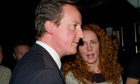 David Cameron and Rebekah Brooks at a book launch in 2009.