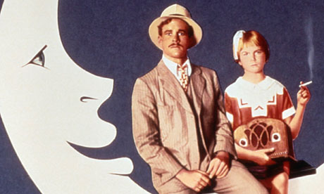 Ryan and Tatum O'Neal in the film Paper Moon