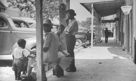 Small-town Mississippi in the 1940s.