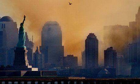 Lower Manhattan on 12 September 2011