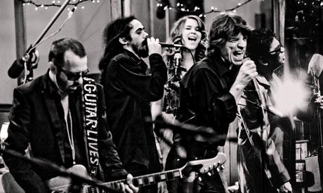 Dave Stewart, Damian Marley, Joss Stone, Mick Jagger and AR Rahman of superheavy