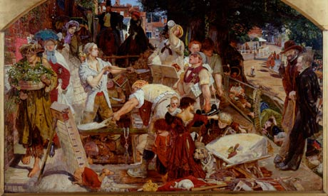 The Pre-Raphaelites Detail-of-Work-by-Ford-Ma-007