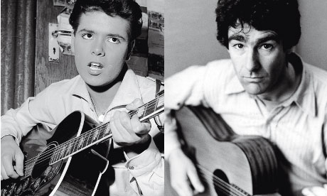 cliff richard (left) and nic jones playing guitars