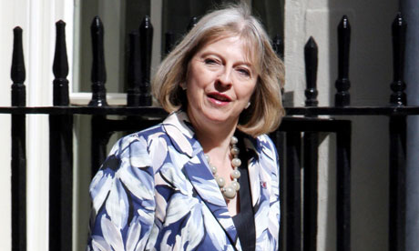 Theresa May diary mislaid
