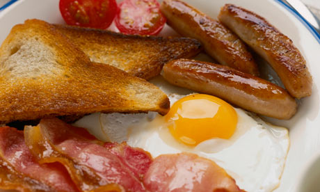 ... and queries: What are the essentials of a full English breakfast